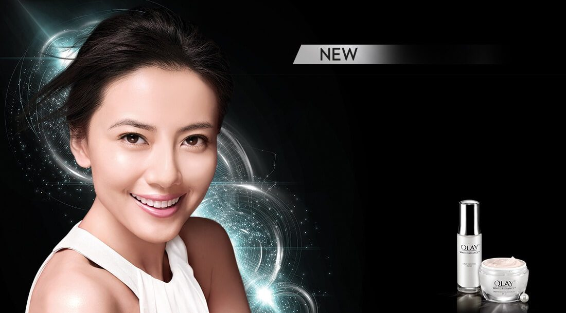 New Olay White Radiance For Dewy Radiant Aura Starts Day 1